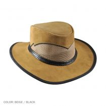 Cheyenne Suede and Mesh Western Hat alternate view 4
