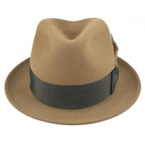 Jet Fur Felt Fedora Hat alternate view 32