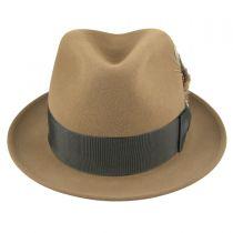 Jet Fur Felt Fedora Hat alternate view 5