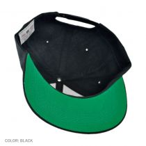 6 Panel Snapback Baseball Cap
