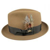 Jet Fur Felt Fedora Hat alternate view 6