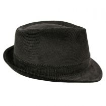 Corduroy C-Crown Trilby Fedora Hat alternate view 4