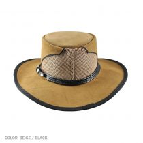 Cheyenne Suede and Mesh Western Hat alternate view 6