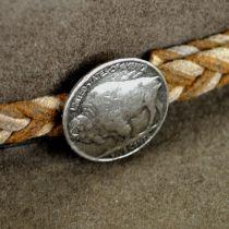 Rawhide Buffalo Fur Felt Western Hat