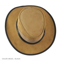 Cheyenne Suede and Mesh Western Hat alternate view 8