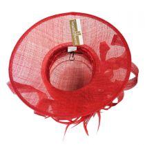 Visage Boater Hat in