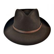 Emmet Fur Felt Fedora Hat