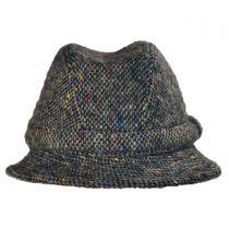 Donegal Tweed Tic Weave Walker Fedora Hat