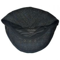 Harris Tweed Windowpane Plaid Ivy Cap