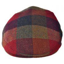Herringbone Squares Donegal Tweed Wool Ivy Cap alternate view 42