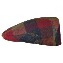 Herringbone Squares Donegal Tweed Wool Ivy Cap alternate view 43
