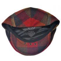 Herringbone Squares Donegal Tweed Wool Ivy Cap alternate view 44