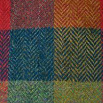 Herringbone Squares Donegal Tweed Wool Ivy Cap alternate view 45