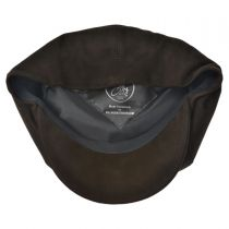 Matte Nappa Leather Newsboy Cap alternate view 8