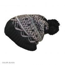 Fair Isle Pom Beanie Hat