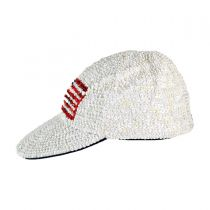 Sequin Baseball Cap - USA Flag