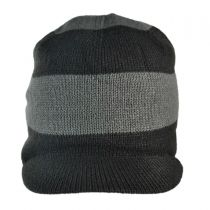 Northern Peak Visor Beanie Hat BC3