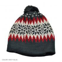 Fair Isle Knit Beanie Hat alternate view 2