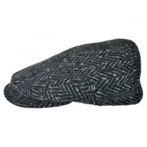 Donegal Tweed Large Herringbone Ivy Cap