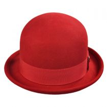 Pack Wool Felt Bowler Hat