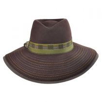 Halley Wool Felt Fedora Hat