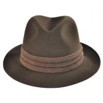Abraxas Fur Felt Fedora Hat