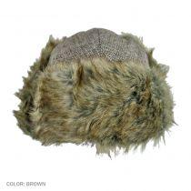 Herringbone Wool Blend Trapper Hat alternate view 2