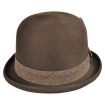 Tweed Deluxe Wool Felt Bowler Hat