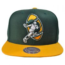Green Bay Packers NFL XL Logo 2Tone Snapback Baseball Cap
