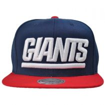 Mitchell & Ness - New York Giants XL Logo 2Tone NFL Snapback Baseball Cap