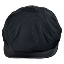 Twill Newsboy Cap with Earlap