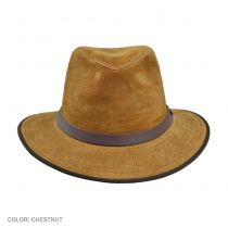 Nubuck Leather Safari Hat
