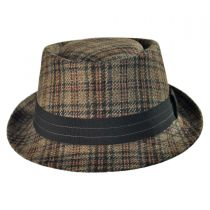 Michael Zechbauer Hugh Pork Pie Hat