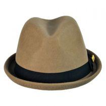 Union Stingy Brim Wool Fedora Hat