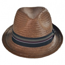 Tribeca Toyo Straw Trilby Fedora Hat alternate view 2