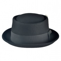 Wool Felt Pork Pie Hat 2