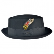 Wool Felt Pork Pie Hat 3