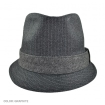 Alcee Fabric Trilby Fedora Hat g2