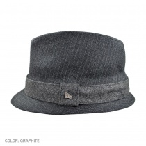 Alcee Fabric Trilby Fedora Hat g3