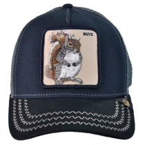 Squirrel Nuts Mesh Trucker Snapback Baseball Cap N2