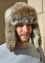 Wolverine Faux Fur Trapper Hat