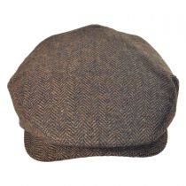 Square Bill Herringbone Ivy Cap