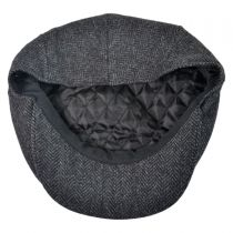 Square Bill Herringbone Wool Ivy Cap in