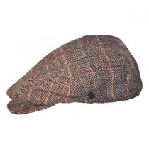 Square Bill Herringbone Plaid Ivy Cap