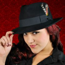 C-Crown Crushable Wool Felt Fedora Hat alternate view 86