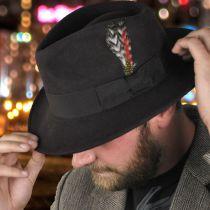 C-Crown Crushable Wool Felt Fedora Hat alternate view 87