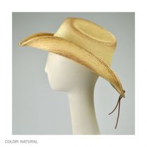 Nuts and Bolts Guatemalan Palm Leaf Straw Hat alternate view 3