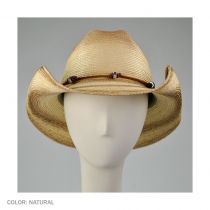 Nuts and Bolts Guatemalan Palm Leaf Straw Hat in