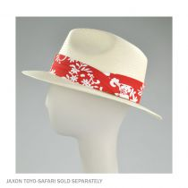 Pareo 3 Pleat Cotton Hatband