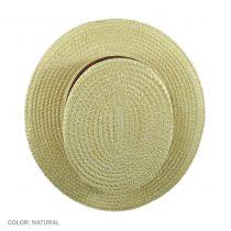 Coburg Straw Skimmer Hat